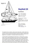 1982 Bayfield 29 cutter rig, 29 ft, 1982, Misty Morn (registered but no label)