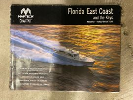 Chartkit Florida East Coast and the Keys