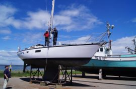 Voilier-Sailboat, Dufour 35, 35 feet, 35 pieds, 35 ft, 1980, CapNoir 2