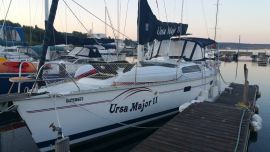 HUNTER LEGEND 40.5, 40.5 ft, 1993, URSA MAJOR ll