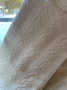 Coverlet for Queen bed forward cabin