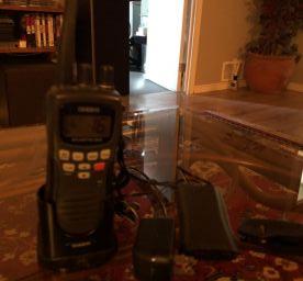uniden vhf portable radio atlantis 250