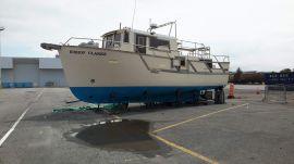 Bateau trawler chalutier, 37 ft, 1994, BISHOP CLARKE