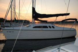 Deriveur 1993 Hunter 23.5 et trailer : explorez!, 23.5 ft, 1993