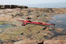 Kayak tandem, 6.4 m