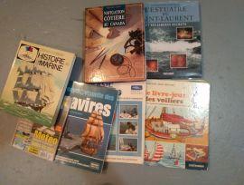 Livre histoire   de marin plaisanciers