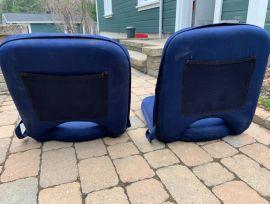 2 Chaises confort pour bateau