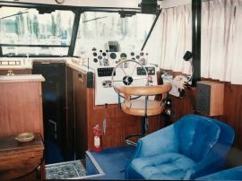 VENDU- Fiberform Executive 3300, 33 ft, 1978, Le Marijan