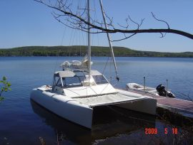 catamaran, 20 ft, 2002, Tomcat