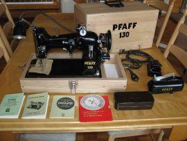 Machine à coudre PORTATIVE PFAFF 130