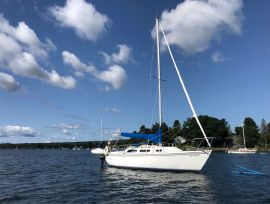 Voilier Catalina 25, 25 ft, 1984, Silence
